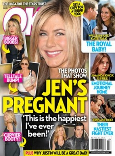 Photos That Show Jennifer Aniston Is Pregnant