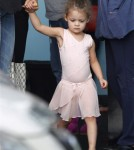 Nicole Richie was seen taking her daughter Harlow Madden to ballet lessons in Los Angeles, California on October 19, 2011.