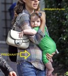 Is Natalie Portman Pregnant? Seen with son Alef