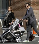 Jessica Alba and Cash Warren in Nyc With Honor and Haven