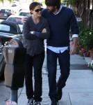 Jennifer Garner and Ben Affleck Hold Hands In Brentwood, CA October 27th, 2011.
