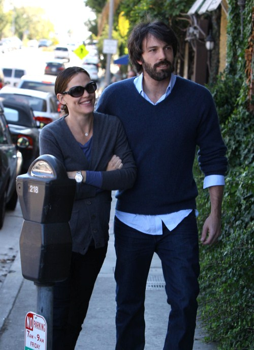 Jennifer Garner And Ben Affleck Have Mommy-Daddy Time