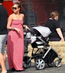 Jessica Alba And Family At Shawn's Pumpkin Patch