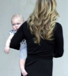 Christina Applegate with her baby in Los Angeles,