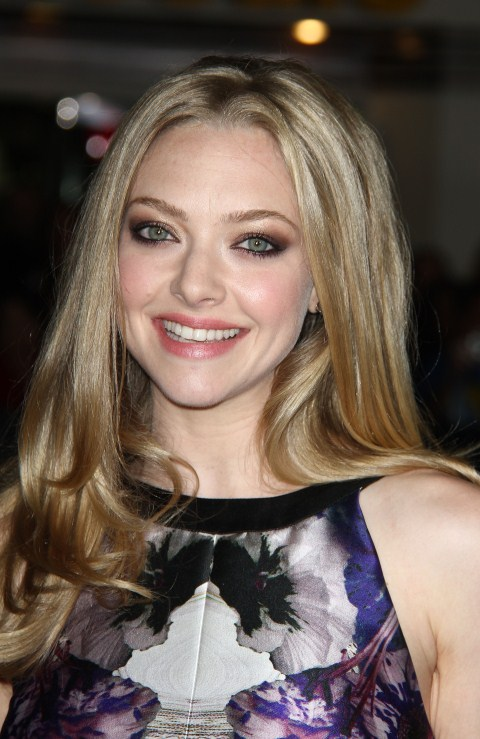 Amanda Seyfried at the IN Time Premiere held at The Regency Village Theater in Weswood, California on October 20th, 2011.