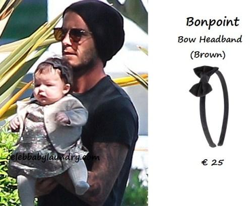 Celeb Baby Style: Harper Seven Beckham Wears Bonpoint - David and Victoria Beckham