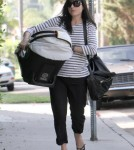 Selma Blair returns home with her son, Arthur Bleick, in Beverly Hills, California on October 14, 2011.