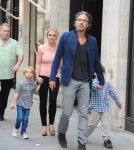Britney Spears and Her Sons in Paris October 4, 2011