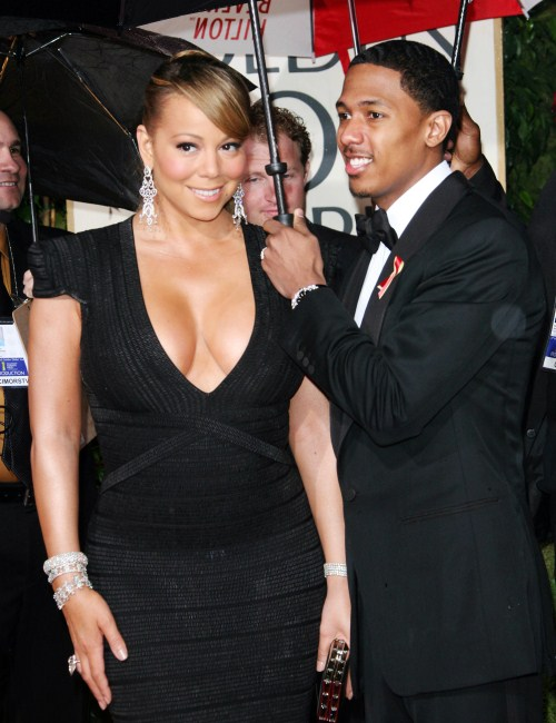 Mariah Carey at The 67th Annual Golden Globes - January 17, 2010 at the Beverly Hilton Hotel.