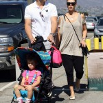 Jessica Alba and Cash Warren Take Honor To The Country Fair
