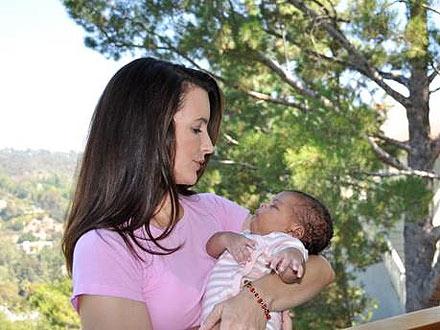 Kirstin Davis Adopts Gemma Rose