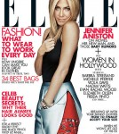 Jennifer Aniston Cover Elle Magazine November 2011