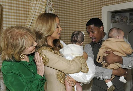 FIRST PICTURE: Mariah Carey and Nick Cannon's Twins Moroccan and Monroe
