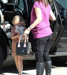 Pregnant Jennifer Garner Taking Violet To Dentist