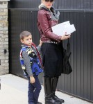 Gwen Stefani and Kingston Stop At A Bakery Before Heading to Gwyneth Paltrow's house