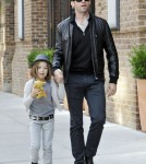 Hugh Jackman, Deborra-Lee Furness with their kids Oscar and Ava