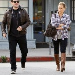 Hilary Duff Spends The Day With Her Man