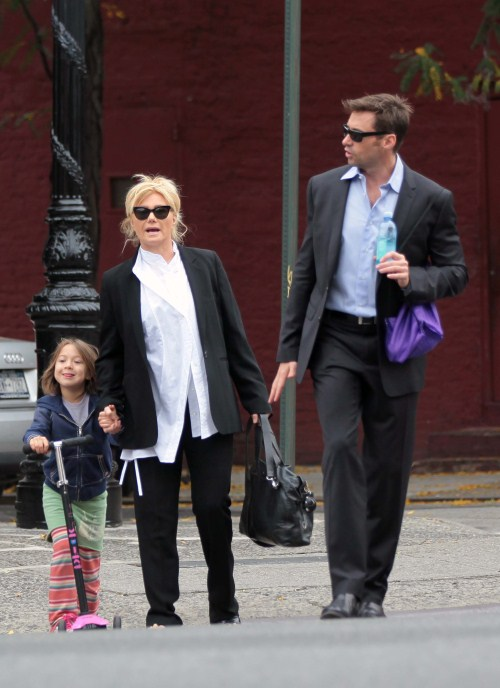 Birthday Boy, Hugh Jackman Brings Daughter Ava To School