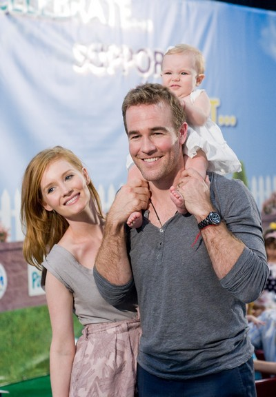 James Van Der Beek Is Going TO Be A Daddy Again