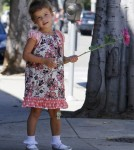 Jessica Alba and Honor Out and About In Los Angeles, California