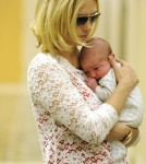 First Look at January Jones' Baby Boy Xander