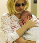 First Look at January Jones' Baby Boy Xander