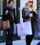 Pregnant Jessica Simpson in NYC