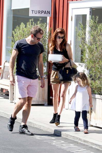 Michelle Monaghan and Family Pick Up Tasty Treats