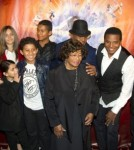 Prince, Paris & Blanket Jackson at the premiere of the Michael Jackson themed 'Cirque du Soleil' show in Montreal Oct 2