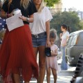 Nicole Richie takes her daughter Harlow to ballet class in Los Angeles, California on October 12th, 2011. Fame Pictures, Inc - Sa