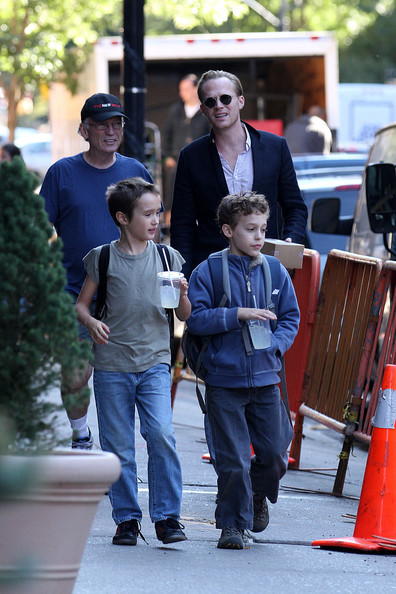 Paul Bettany Makes The School Run In NYC