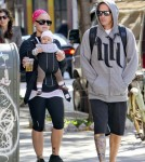 Pink and Carey Hart Out in NYC With Willow Sage