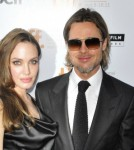 "Friday September 9 2011. Superstar couple Brad Pitt and Angelina Jolie attend the premier of the new movie ""Money Ball"" at the Toronto Film Festival."