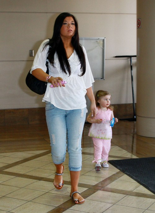 Amber Portwood and Leah