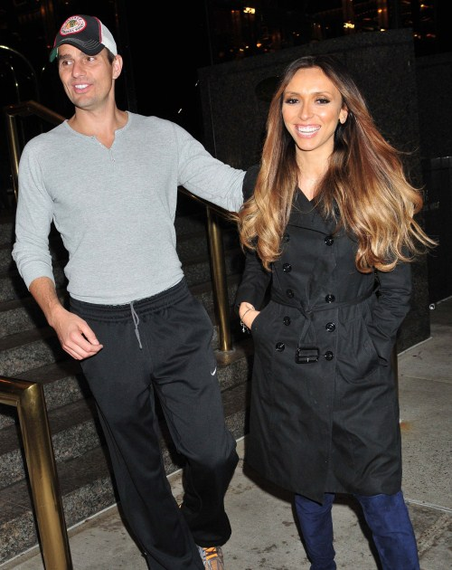 Giuliana and Bill Rancic in New York, NY on October 14th, 2011.