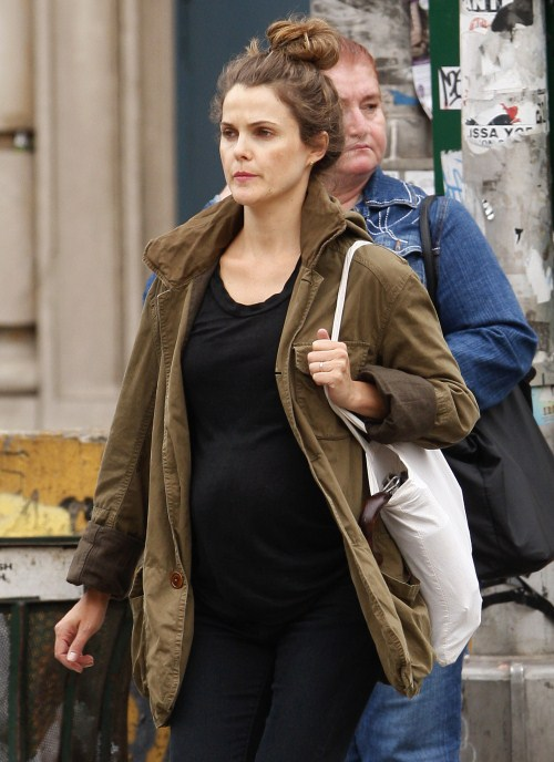 Keri Russell Bumps Her Way Through NYC