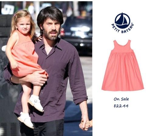 Celeb Baby Style: Petit Bateau Clothing - Seraphina Affleck