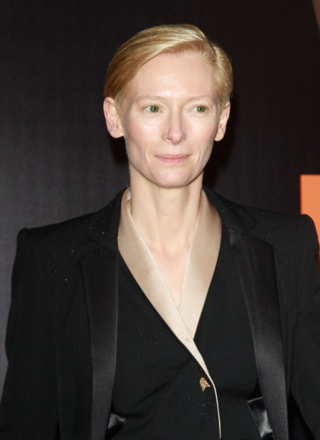 Tilda Swinton Happy She Instantly Bonded With Kids