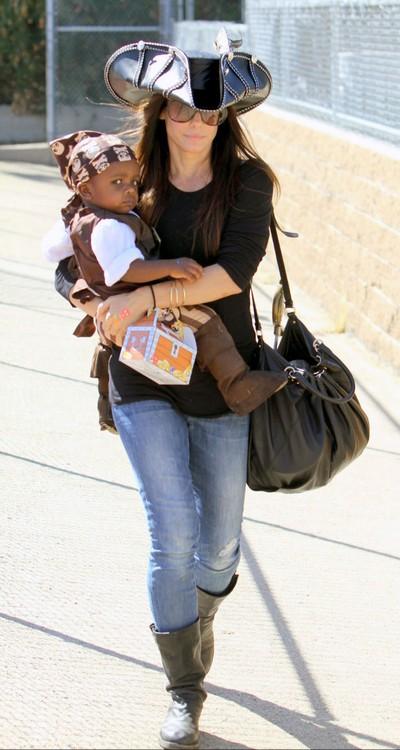 Sandra Bullock's Son Louis Given a $14,000 Gift