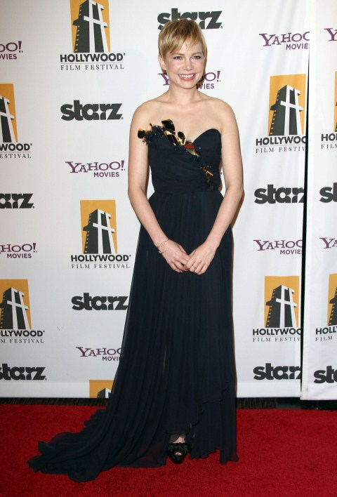 The 15th Annual Hollywood Film Awards held at The Beverly Hilton hotel in Beverly Hills, California on October 24th, 2011. Michelle Williams