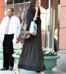 Pregnant Emma Heming, (wife of Bruce Willis) stops by a medical building in Beverly Hills.