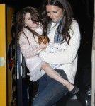 Suri Cruise Is Katie's Little Cookie Monster