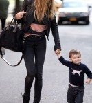 Gisele Bundchen out to eat in NYC with Benjamin Brady (November 19).