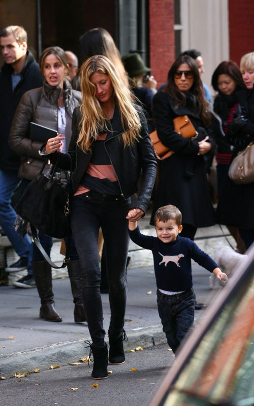 Gisele Bundchen's Big Apple Lunch With Benjamin