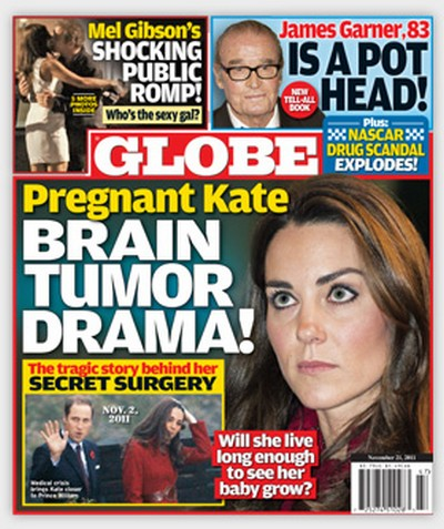 Kate Middleton Pregnant and Brain Tumor Rumors - Are They True?