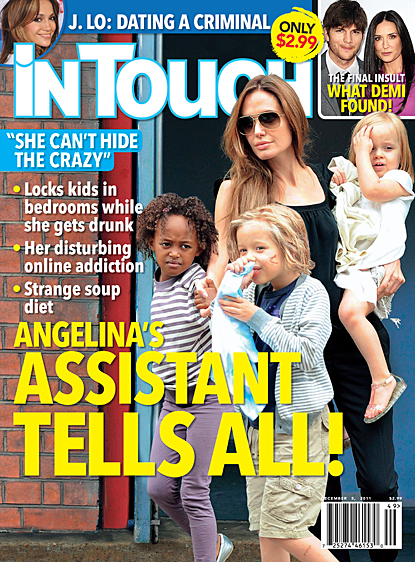 Angelina Jolie's Assistant Dishes On All Her Dirt!