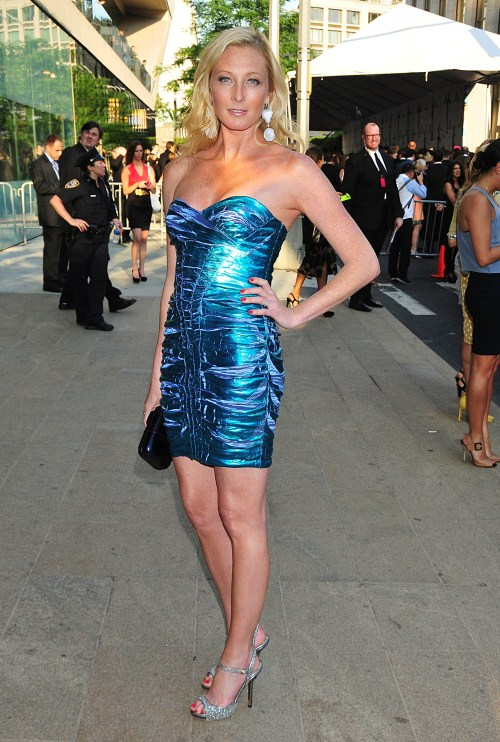 Maggie Rizer attends the CFDA fashion awards at Alice Tully Hall in NYC, NY on June 6, 2011.