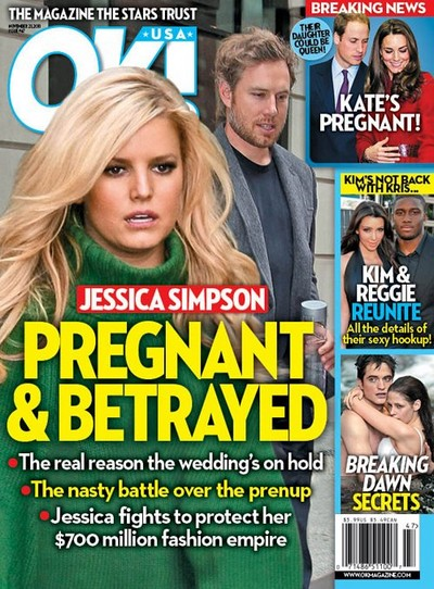 Jessica Simpson – Pregnant & Betrayed (Photo)