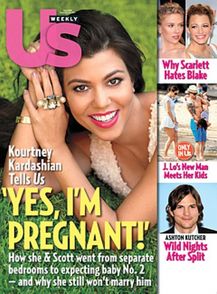Kourtney Kardashian Is Pregnant AGAIN!