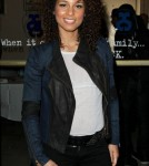 Alicia Keys At The Sticky Fly Photocall